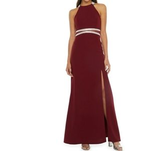 My Michelle Prom Sleeveless Fitted Gown-Juniors